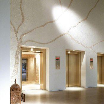 rivestimento pareti decorate in resina